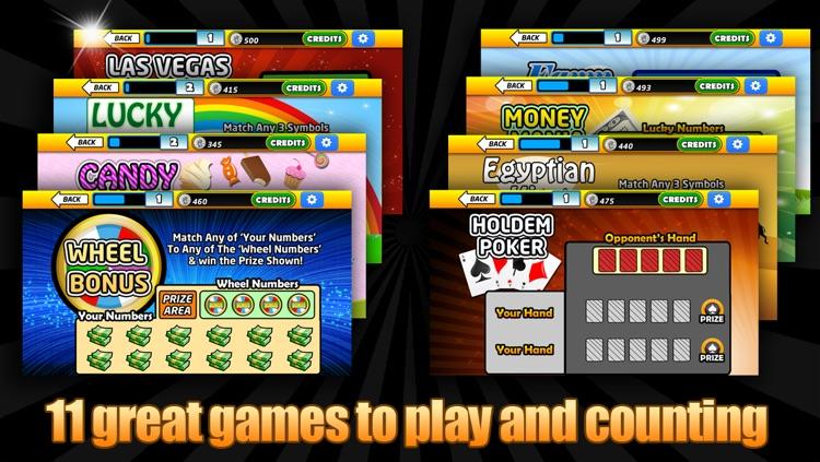 Lotto Cards Scratch Offs VIP