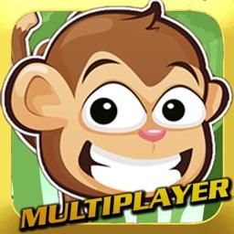 Multiplayer Monkey Swing Game - Free Cute Kids App