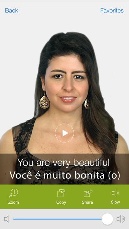 Portuguese Video Dictionary - Learn and Speak with Video Phrasebook screenshot-4