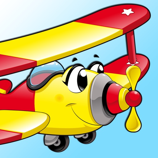 Airplane Adventure Flight: Simple Flying Game for Children
