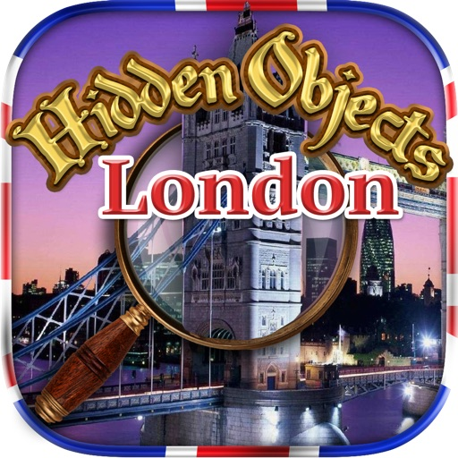 Hidden Objects - London Adventures & Object Time Games
