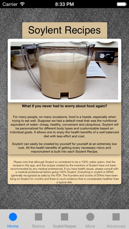 The Soylent Diet - Never Eat Again, Recipes, Tips