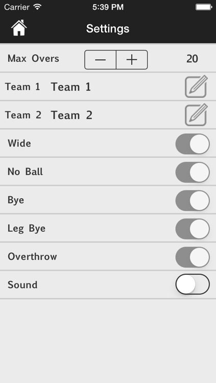 CricScore screenshot-1