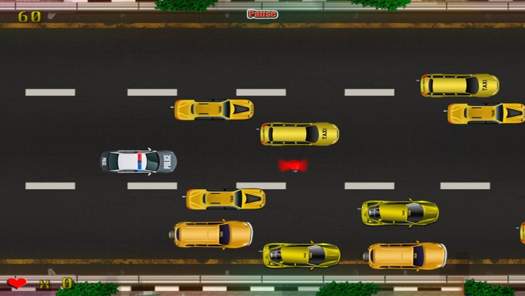 Police Emergency Vehicle Car Rush : The New-York Taxi Traffic Jam Madness - Free Edition screenshot-3