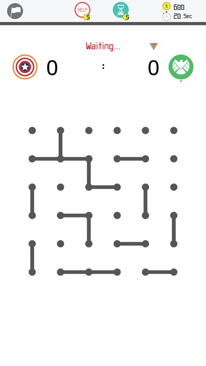 4our Dots - Dots and Boxes