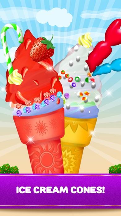 Maker Games Ice Cream Shop Cones, Sundae, Sandwiches & Pops screenshot two