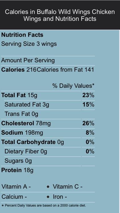 Food Labels screenshot-4