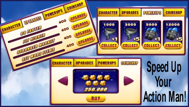 Super Hero Action Jump Man - Best Fun Adventure Jumping Race Game screenshot-3