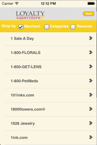 LoyaltySuperstore screenshot 3