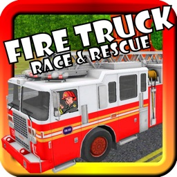 Fire Truck Race & Rescue! Toy Car Game For Toddlers and Kids