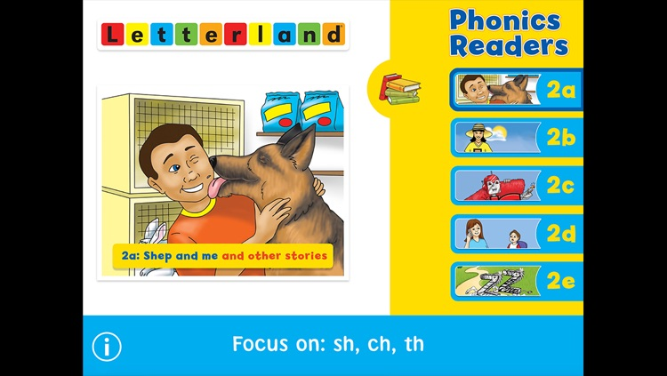 Letterland Phonics Readers Set 2 screenshot-0