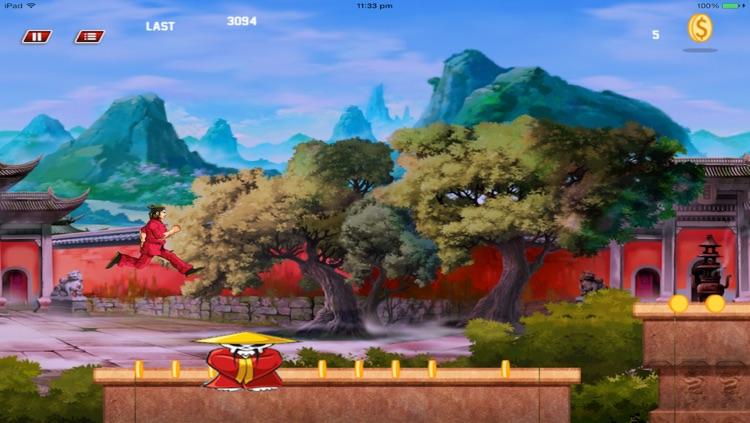 Super KungFu Fighter Run -HD screenshot-4