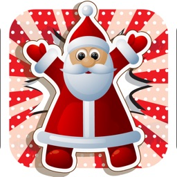 Sticker Santa