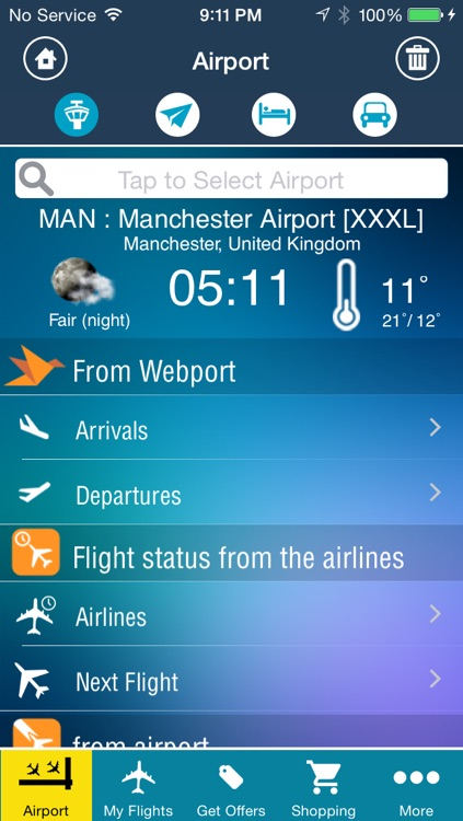 Manchester Airport Pro (MAN) +Flight Tracker Radar screenshot-1