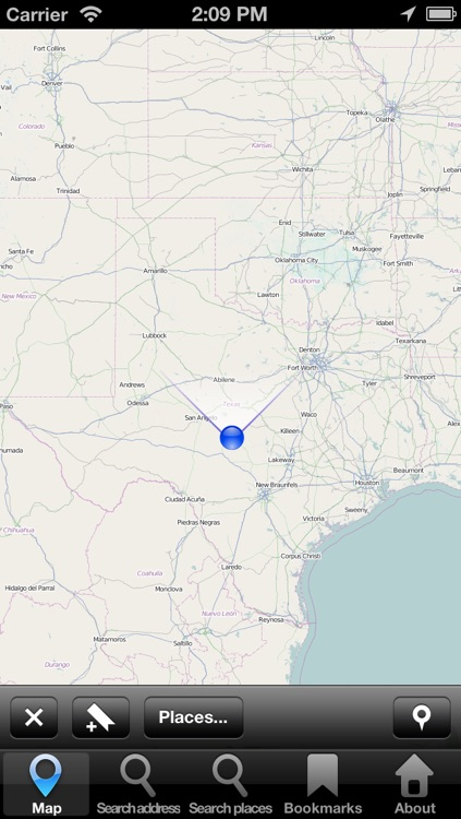 Offline Map Texas, USA: City Navigator Maps