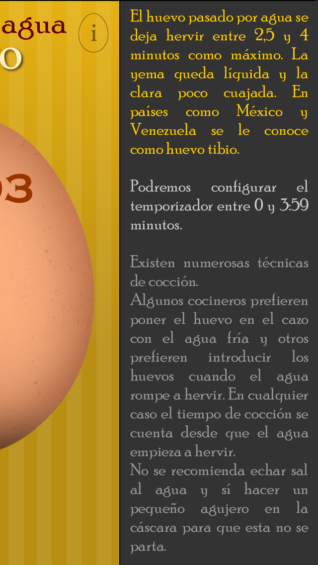 The Perfect Boiled Egg - The egg-timer you can not miss in your kitchen. screenshot four