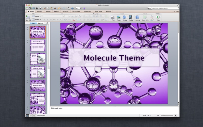 Motion Templates for MS PowerPoint Presentations