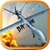 エアーコンバットドローンパイロットミサイル攻撃シミュレータ 3D