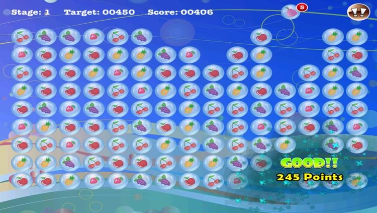 Popstar Fruit Bubble Match screenshot-4