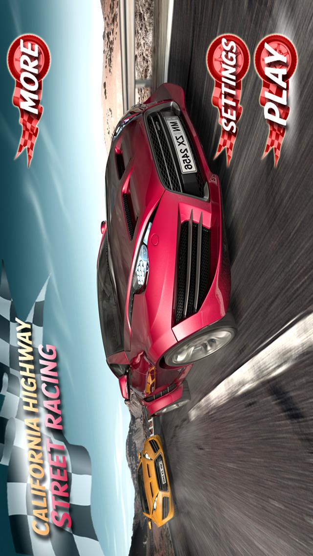 Adrenaline Beach Chase - California Highway Street Racing