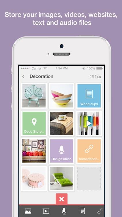 ClipUp - Collect & Organize Ideas