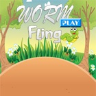 Worm Fling Play For Kids icon