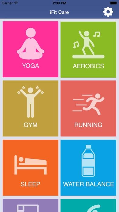 Fitness Careのおすすめ画像1