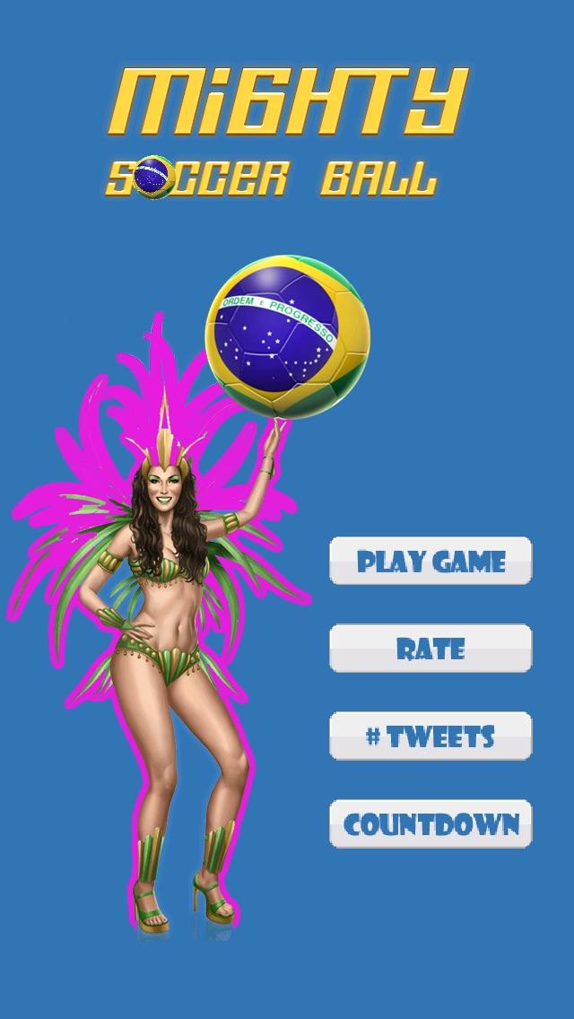 ブラジルサッカーカウントダウン   (Mighty Football Boom - The World Best Countdown to Beach-es of Brazil Action Sport Game)のスクリーンショット1