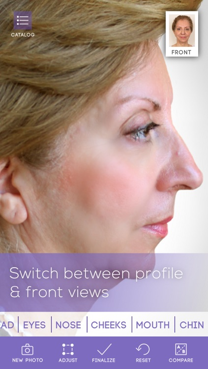 FaceLift: Cosmetic Surgery Simulator + Perfect Skin + Anti-Aging Visualizer