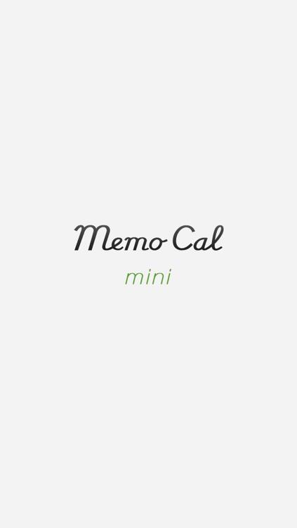 MemoCal mini screenshot-0