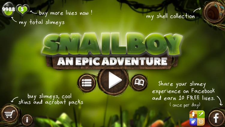 Snailboy, An Epic Adventure