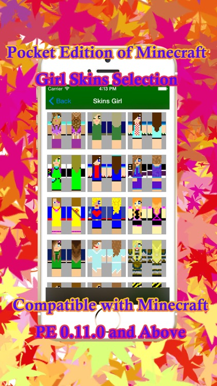 2000+ Girl Skins Builder for Minecraft PE + PC screenshot-3
