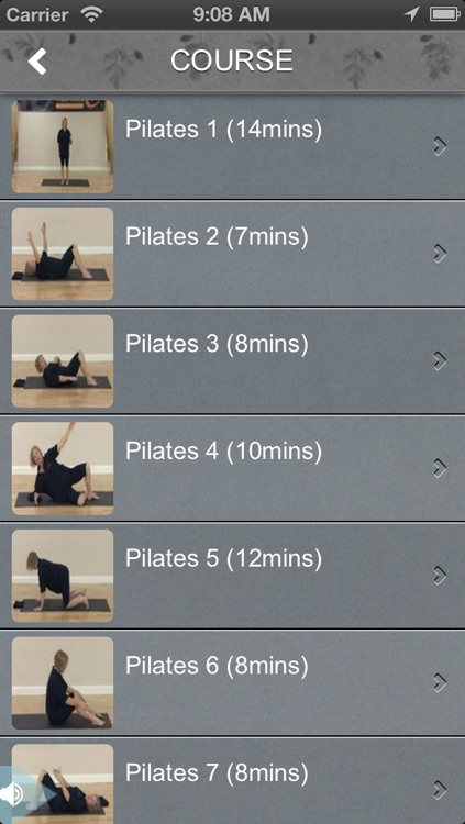 Pilates Fitness screenshot-1