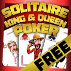 Solitaire King & Queen Poker : 纸牌屋 icon