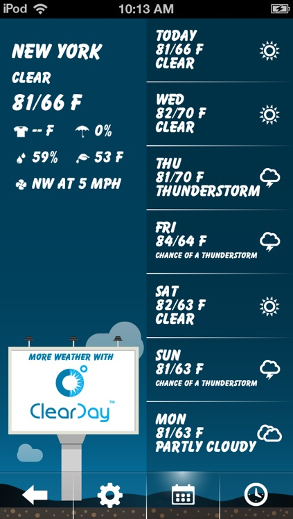 Weather Pal by Clear Day™ -  Free Live Weather Forecast screenshot-4