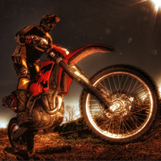Motocross 3D - With your motorbike do stunts and show them! icon