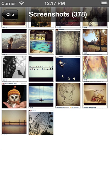 Clip -  Auto Photo Cropper for Instagram