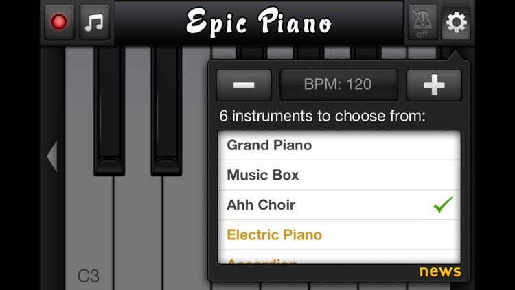 Epic Piano screenshot-3