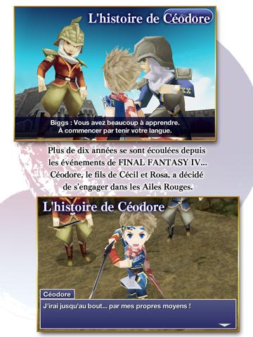 Screenshot #5 pour FINAL FANTASY IV : LES ANNÉES SUIVANTES
