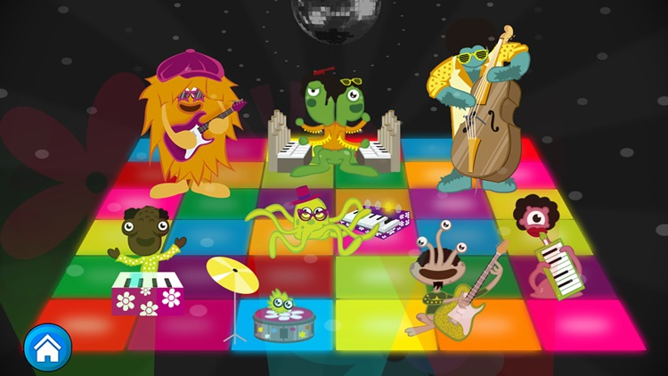 Monster Band. Musical Game screenshot-0