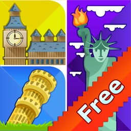 Guess the City Puzzle Icon Quiz – 1 Picture 1 Word Game for Kids FREE