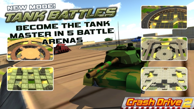 Crash Drive 2: The multiplayer stunt game, with monster trucks & classic muscle cars screenshot-4