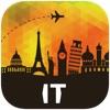 イタリア オフラインマップ、ガイド。ホテル、天候、旅行 ローマ,ヴェネツィア,フィレンツェ,ミラノ