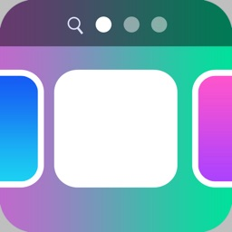 Color Dock Bars - Customize your wallpaper with cool color dock bars for iOS 7