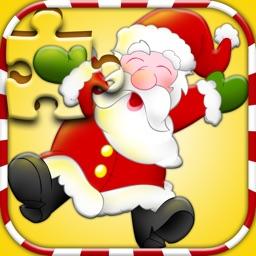 Amazing Santa jigsaw puzzle - free kids games