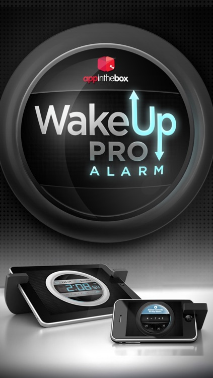 Wake Up Pro Alarm screenshot-0