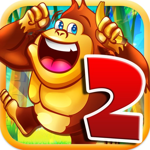 Jungle Quest Jetpack – Free Gorilla Tap Bush Run Gathering Bananas