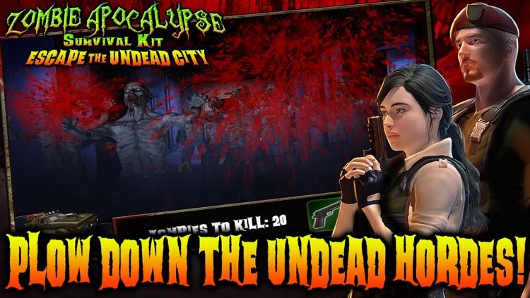 Zombie Apocalypse Survival Kit: Escape the Undead City screenshot-4