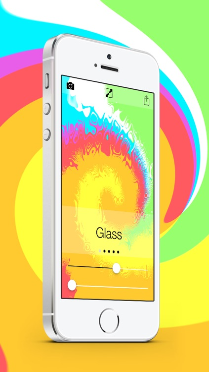 Wallpapers and Backgrounds Maker HD - DIY customize themes for your iPhone, iPad and iPod touch lock and home screen (iOS 5, 6 & 7)