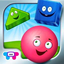 Friendly Shapes - All In One Education Center & Interactive Storybook for Kids